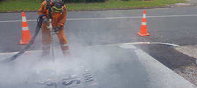 sodablast hawkes bay concrete etching concrete