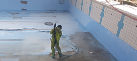 sodablasthb swimming pool refurbishment